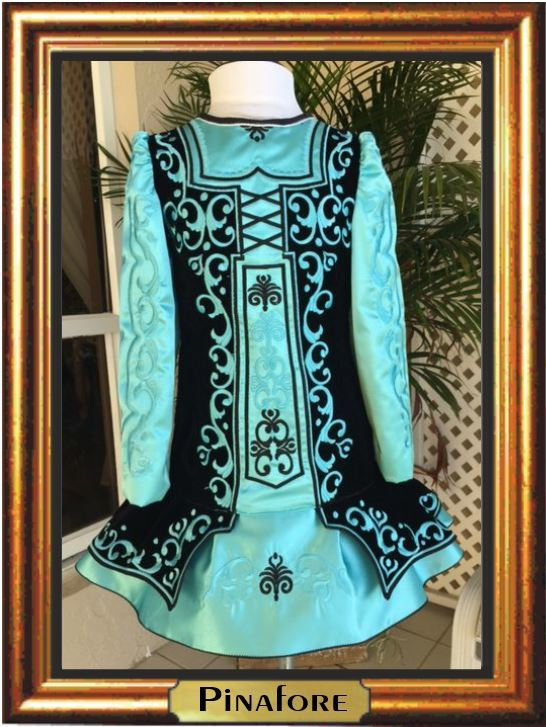 """NO BLING"" Irish Dance Dress"