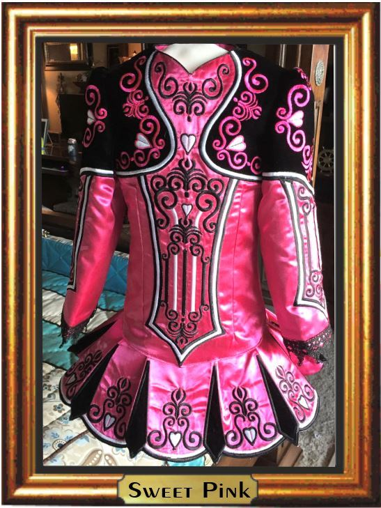 NO BLING Irish Dance Dress